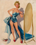 Pin-up and Glamour Art, JOYCE BALLANTYNE (American, 1918-2006). Use YourImagination. Oil on canvas. 30 x 24 in.. Signed lower right....