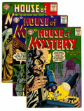 Silver Age (1956-1969):Horror, House of Mystery Group (DC, 1957-61) Condition: Average VG+....(Total: 17 Comic Books)
