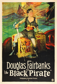 """The Black Pirate (United Artists, 1926). One Sheet (28"""" X 41"""")"""
