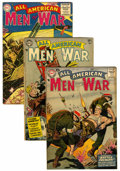 Golden Age (1938-1955):War, All-American Men of War Group (DC, 1954-57).... (Total: 7 ComicBooks)