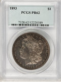 Proof Morgan Dollars, 1893 $1 PR62 PCGS....