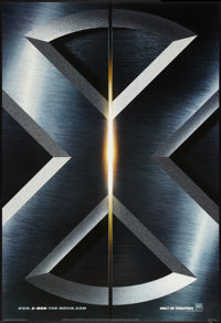 """X-Men 1 and 2 (20th Century Fox, 2000 and 2003). One Sheets (2) (27"""" X 40"""") #1 is DS Style A, and # 2 is DS Ad..."""