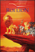 "Movie Posters:Animated, The Lion King Lot (Buena Vista, 1994). French Grande (41"" X 61""),and One Sheet (27"" X 47""). Animated.. ... (Total: 2 Items)"