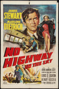 """Movie Posters:Drama, No Highway in the Sky Lot (20th Century Fox, 1951). One Sheets (2) (27"""" X 41""""). Drama.. ... (Total: 2 Items)"""
