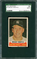 Baseball Cards:Singles (1960-1969), 1961 Bazooka (Topps) Mickey Mantle #2 SGC Authentic. ...