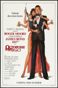 "Movie Posters:James Bond, Octopussy (MGM/UA, 1983). One Sheet (27"" X 41"") Advance, Style B. James Bond.. ..."
