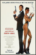 """Movie Posters:James Bond, A View to a Kill (United Artists, 1985). One Sheet (27"""" X 40"""") SS Advance. James Bond.. ..."""