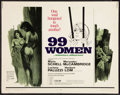 "Movie Posters:Bad Girl, 99 Women (Commonwealth United, 1969). Half Sheet (22"" X 28""). BadGirl.. ..."