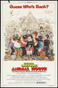 """Animal House Lot (Universal, R-1979). One Sheet (27"""" X 41"""") Style A. Comedy. ... (Total: 2 Items)"""
