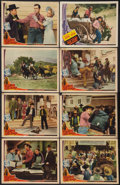 """Movie Posters:Western, Fighting Bill Fargo Lot (Universal, 1941). Lobby Cards (8) (11"""" X 14""""). Western.. ... (Total: 8 Items)"""