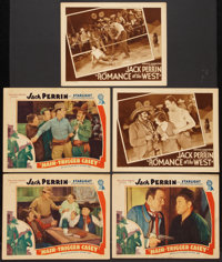 "Hair-Trigger Casey Lot (Atlantic Pictures, 1936). Lobby Cards (5) (11"" X 14""). Western. ... (Total: 5 Items)"