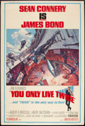 "Movie Posters:James Bond, You Only Live Twice (United Artists, 1967). Poster (40"" X 60""). James Bond.. ..."