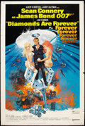 """Movie Posters:James Bond, Diamonds Are Forever (United Artists, 1971). Poster (40"""" X 60""""). James Bond.. ..."""
