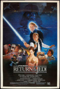 "Movie Posters:Science Fiction, Return of the Jedi (20th Century Fox, 1983). Poster (40"" X 60"").Science Fiction.. ..."