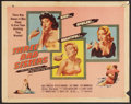 "Movie Posters:Bad Girl, Three Bad Sisters (United Artists, 1956). Half Sheet (22"" X 28"")Style B. Bad Girl.. ..."