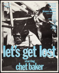 "Movie Posters:Documentary, Let's Get Lost (Zeitgeist, 1988). Poster (37"" X 46""). Documentary.. ..."