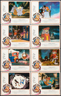 "Movie Posters:Animated, The Nine Lives of Fritz the Cat (American International, 1974). Lobby Card Set of 8 (11"" X 14""). Animated.. ... (Total: 8 Items)"