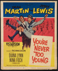 """Movie Posters:Comedy, You're Never Too Young Lot (Paramount, 1955). Window Cards (3) (14"""" X 17"""" and 14"""" X 22""""). Comedy.. ... (Total: 3 Items)"""