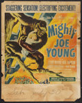 "Movie Posters:Adventure, Mighty Joe Young (RKO, 1949). Jumbo Window Card (22"" X 28"") Style A- Holding Child. Adventure.. ..."