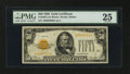 Small Size:Gold Certificates, Fr. 2404 $50 1928 Gold Certificate. PMG Very Fine 25.. ...