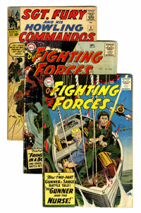 Comic Books - Assorted Silver Age War Comics Group (Various, 1960s) Condition: Average GD/VG.... (Total: 9 Comic Books)