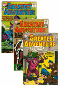 Silver Age (1956-1969):Adventure, My Greatest Adventure Group (DC, 1960-63) Condition: Average VG.... (Total: 12 Comic Books)