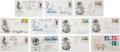 Miscellaneous Collectibles:General, Misc. Sports Legends Signed First Day Covers Lot of 11....