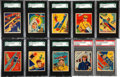 "Non-Sport Cards:Sets, 1933-34 Goudey ""Sky Kings"" Partial Set (31)...."
