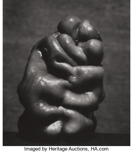 EDWARD WESTON (American, 1886-1958) Pepper (No. 14), 1929 Vintage gelatin silver 8-3/4 x 7-1/2 inches (22.2 x 19.1 cm... (Total: 2 Items)