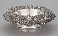 AN AMERICAN SILVER BOWL WITH ROLL-OVER RIM The Stieff Company, Baltimore, Maryland, circa 1924 Marks: STIEF