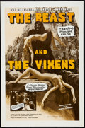 "Movie Posters:Horror, The Beast and the Vixens (Sophisticated Films, 1974). One Sheet (27"" X 41"") and Pressbook (Multiple Pages, 11"" X 17"") (Conta... (Total: 2 Items)"