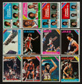 Basketball Cards:Lots, 1975-76 Topps Complete Set (330), 1987-88 and 1989-90 FleerBasketball High Grade Collection. ...