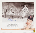 """Baseball Collectibles:Others, Ted Williams """"1947"""" Signed Lithograph...."""
