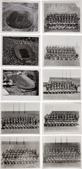 Football Collectibles:Photos, 1950's-70's Green Bay Packers Original Press Photographs Lot of 10- Hank Lefebvre Images!...