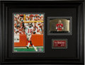 Football Collectibles:Photos, Joe Montana Signed Display. ...