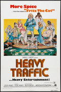 "Movie Posters:Animated, Heavy Traffic (American International, 1973). One Sheet (27"" X41""). Animated.. ..."