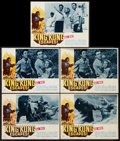 """Movie Posters:Science Fiction, King Kong Escapes (Universal, 1968). Lobby Cards (5) (11"""" X 14""""). Science Fiction.. ... (Total: 5 Items)"""