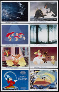 """Movie Posters:Animation, Fantasia (Buena Vista, R-1982). Lobby Card Set of 8 (11"""" X 14""""). Animation.. ... (Total: 8 Items)"""