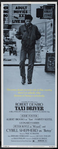 """Movie Posters:Crime, Taxi Driver (Columbia, 1976). Insert (14"""" X 36""""). Crime.. ..."""