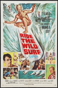 "Movie Posters:Sports, Ride the Wild Surf (Columbia, 1964). One Sheet (27"" X 41""). Sports.. ..."