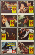 "Movie Posters:Science Fiction, The H-Man (Columbia, 1959). Lobby Card Set of 8 (11"" X 14"").Science Fiction.. ... (Total: 8 Items)"