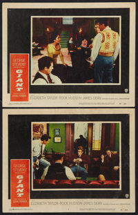 "Giant (Warner Brothers, 1956). Lobby Cards (2) (11"" X 14""). Drama. ... (Total: 2 Items)"