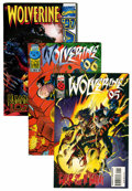 Modern Age (1980-Present):Superhero, Wolverine Related Long Box Group (Marvel, 1990s) Condition: AverageNM-....
