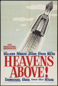 "Movie Posters:Comedy, Heavens Above! (British Lion International, 1963). British One Sheet (27"" X 40""). Comedy.. ..."