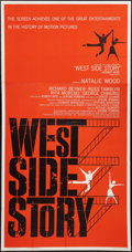 "Movie Posters:Academy Award Winners, West Side Story (United Artists, 1961). Three Sheet (41"" X 81"").Academy Award Winners.. ..."