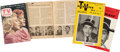 Movie/TV Memorabilia:Autographs and Signed Items, Ernie Kovacs TV Magazines, One Annotated.... (Total: 4 )