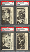 Non-Sport Cards:Sets, 1966 Fleer Three-Stooges High End Complete Set (66). ...