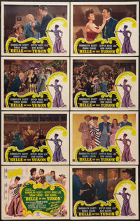 "Belle of the Yukon (RKO, 1944). Lobby Card Set of 8 (11"" X 14""). Musical. ... (Total: 8 Items)"