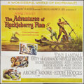 "Movie Posters:Adventure, The Adventures of Huckleberry Finn (MGM, 1960). Six Sheet (81"" X81""). Adventure.. ..."
