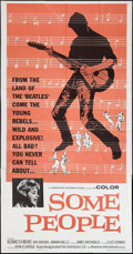 "Movie Posters:Rock and Roll, Some People (Anglo Amalgamated, 1964). Three Sheet (41"" X 81""). Rock and Roll.. ..."